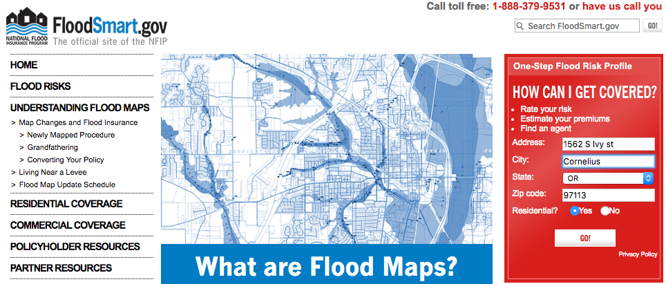 Flood Zones And Insurance Costs Portland Home Inspection - National flood insurance maps